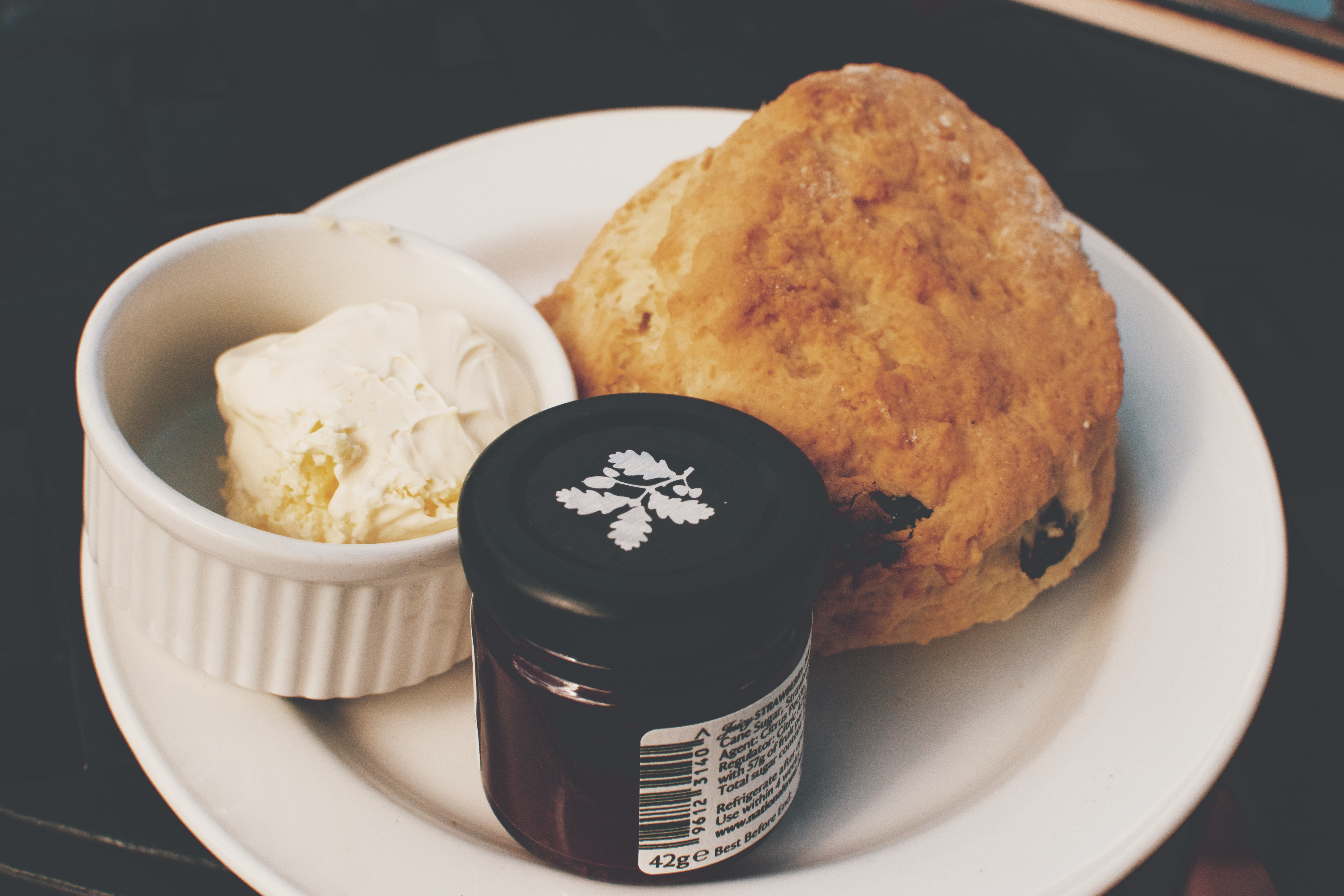 Hearty Health scones for afternoon tea